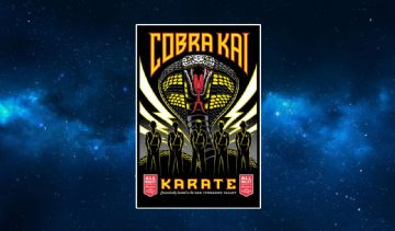 The Karate Kid Kobra Kai Fridge Magnet.